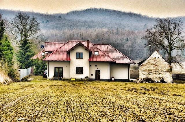bydlení na venkově