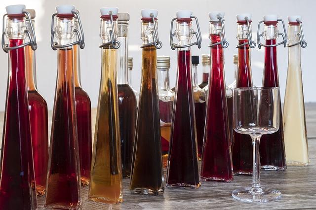 likéry a brandy