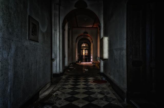 chodba zámku