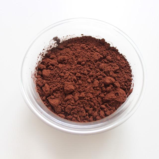 pražené kakaový prášek