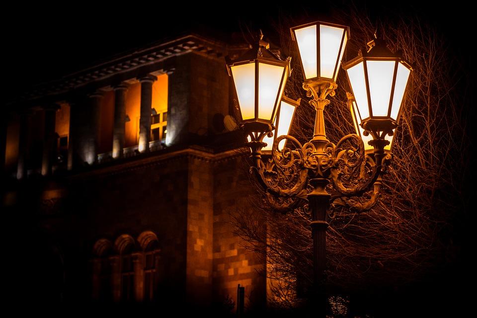 pouliční svítidla